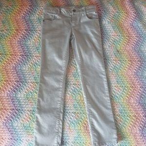 Silver Skinny Jeans by Crazy 8 - Sz 8